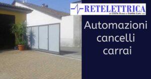 Read more about the article Automazioni cancelli carrai